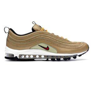Nike Air Max 97 OG QS 'Metallic Gold' Sneakers